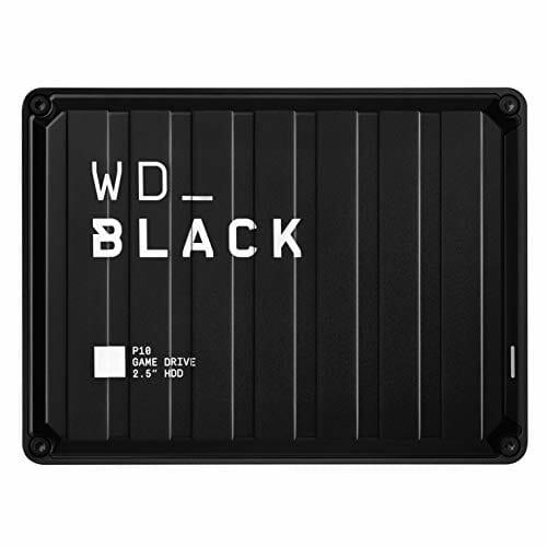 WD Black P10: game drive de 5 TB para PC y consolas