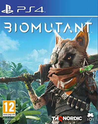 Biomutant para PS4