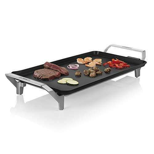 Princess Table Chef Premium 103110: plancha grande XL de gran potencia (46 x 26 cm)