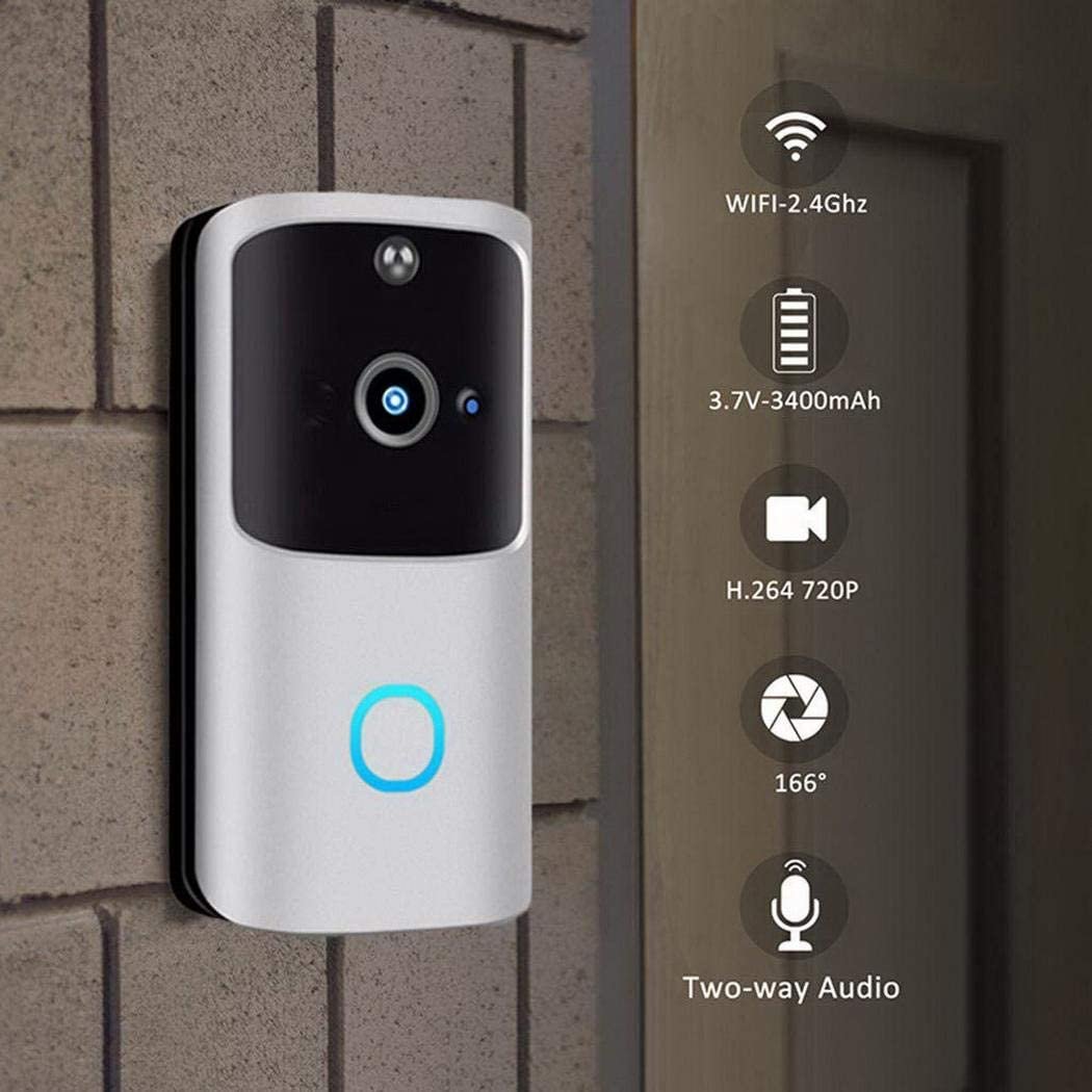 Videoportero WiFi Sivane con visión nocturna y audio bidireccional (2 colores) por 42,99€ usando el #CÓDIGO: QF68S572